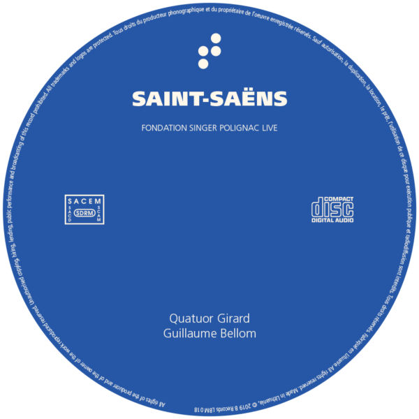 CD Saint-Saëns B Records