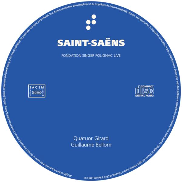 CD Saint-Saëns B Records